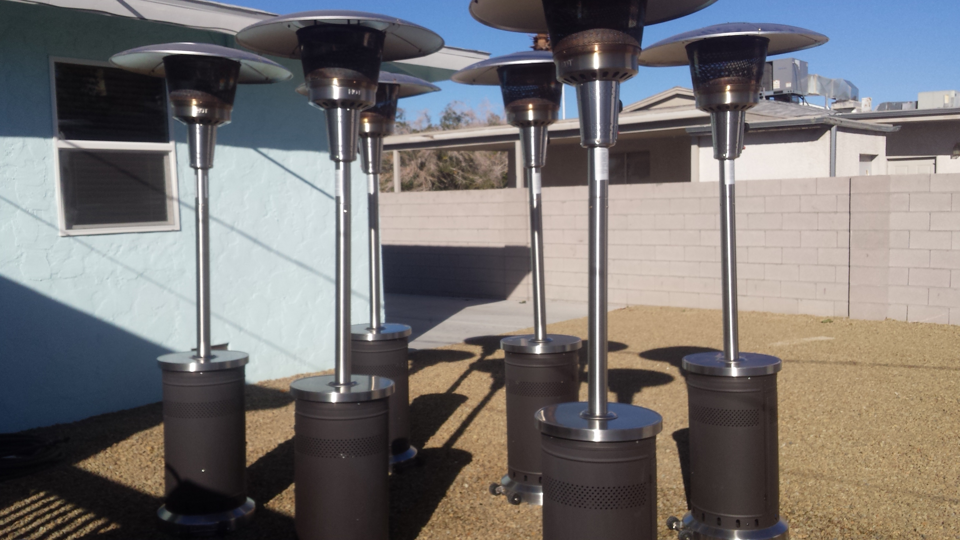Our Products And Prices – Patio Heater Rental